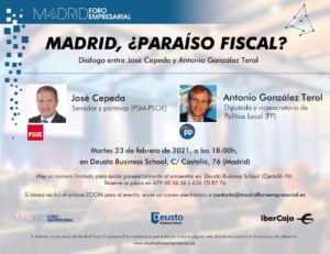 Madrid, ¿paraíso fiscal? @ Deusto Business School